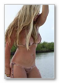 Customer bikini amateur