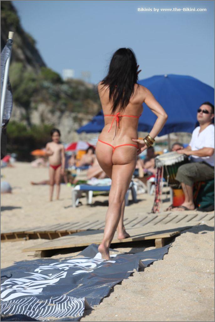 the bikini photos swin p ex zip orange bikini015