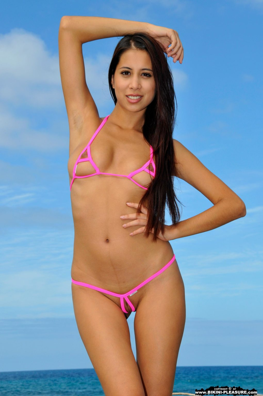 Zaya peekaboo two piece bikini symonekelly